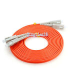1 Pair SC/UPC-SC/UPC fiber optic patch cord jumper cable,Multi-Mode duplex 3-15M