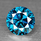 0.55 cts Fancy Titanic Blue Diamond Round Fancy Natural F690