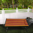 "Bliss Hammocks 55"" Wide Oversized Hammock with Spreader Bars & Pillow"