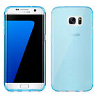 Plain Soft Silicone Gel Rubber Skin Case Cover Pouch For SAMSUNG S8 Plus S6 Edge