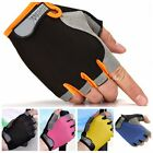 Sport Cycling Bicycle Fitness Yoga Half Finger Antiskid Gloves Breathable Mitten