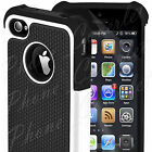 New iPhone 4s Case Shock Proof Heavy Duty Protective Hybrid Anti-Scratch Cover