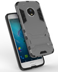 MOTOROLA MOTO G6 G5 PLUS - Slim Hybrid Tough Shock Proof Hard Case Cover