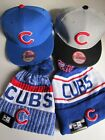 World Series Champs Chicago Cubs Winter Beanie & Adjustable Hat-MLB Cap-4 Styles