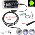 samsung camera usb cable - Type-C USB Waterproof Endoscope Microscope Inspection Camera for Samsung S8 C9 C