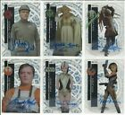 2015 Topps Star Wars High Tek Clouds Diffractor Autograph Card #ed / 25 YOU PICK