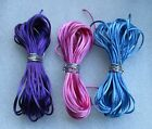 #2 Rattail Rayon and Cotton Cord 131.62 m 12 Yards (36 Feet) Choose Color(s)