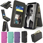 [Samsung Galaxy S8 / S8+] Leather Removable Wallet Magnetic Flip Card Case Cover
