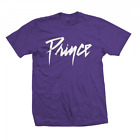 Prince White Logo S, M, L, XL, 2XL Purple T-Shirt