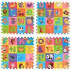 EVA Foam Floor Alphabet Effect Interlocking Play Home kids Soft Tiles Mats Set