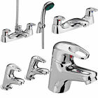 BRISTAN CADET TAPS BASIN MIXER BATH SHOWER FILLER CHROME MONO BATHROOM SET NEW