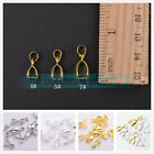 Gold/Silver/Platinum Bail Connector Bale Pinch Clasp Pendant Findings