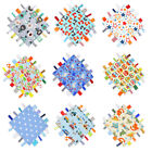 Dotty Fish - Baby Tag Blanket Comforter - Handmade in England
