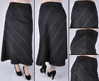 Внешний вид - NWT Stretch Denim Black Long Skirt, size XL, 2Xl & 3XL, SG-86114