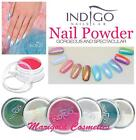 INDIGO Mermaid MIRROR Holographic CHAMELEON Chrome Neon NAIL POWDER + FREE Gift