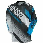 A17 ANSR JERSEY SYNCRON AIR 2017 WHITE/BLACK/CYAN RACEWEAR MOTOCROSS REDUCED