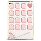 Pink Lady Cute Girl Sweet Soft Silicone Case Cover For Samsung iPad A08D9-7
