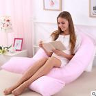 New Foot Maternity Pregnancy Comfort U V Pillow & Optional Case Soft 110*190
