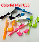 Lot Portable Mini Electric Fan Cooling Cooler Cell Phone For Samsung  iPhone