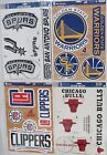 "NBA 11"" x 17"" Ultra Decals Set By WINCRAFT -Select- Team Below on eBay"
