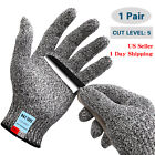LOT Safety Cut Stab Resistant Level 5 Outdoor Police Kitchen Work Butcher Gloves
