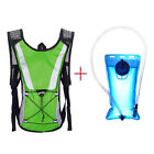 2L Water Bladder Bag Backpack + Hydration Packs for Outdoor Hiking Camping Sport