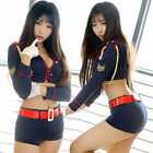 Sexy Lingerie Set Policewomen Uniforms Women's Cosplay Costumes