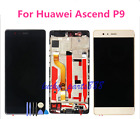 NEW Replacement LCD Display Touch Screen Digitizer Assembly +Frame For Huawei P9