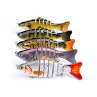 10cm 15g Fishing Wobblers 7 Segments Swimbait Crankbait Fishing Lure Bait Pike