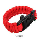 Outdoor Survival Kit Whistle Bracelet Camping Rope Fashion Wristband Tasteful