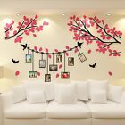 3D DIY Acrylic photo frame wall stickers bedroom living room Wall decals Sticker