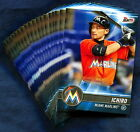 2017 Topps Bunt Miami Marlins Baseball Card Your Choice - You Pick