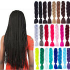 "24"" Ombre Dip Dye Kanekalon Jumbo Braid Hair Extensions High Quality Fiber Braid"