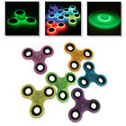 2-100 Assorted Lot of Tri Fidget Spinner Glow in the Dark Toy for Kids and Adult