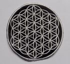 * Round Sew On Patch * Nepalese Made * 8.5cm * Flower of Life - Various Colours