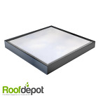 Glass Roof Light for Flat Roofs, Double Glazed Sealed Skylight,  Aluminium Frame