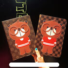 Cute 3d Bear Leather Wallet Ipad 2017 2 3 4 Mini Pro Cartoon Folio Cover Case