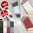 BLACKOUT ROLLER ROOF BLINDS FOR VELUX CODES STARTING WITH C,M,P,S & U - e.g. M04