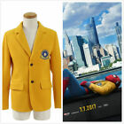 Spider-Man Homecoming Peter Parker Blazer Cosplay Costume School Uniform Outwear
