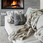 Soft Rabbit Fur Blanket Rug Real Fur Blanket Popular Come Carpet Patchwork