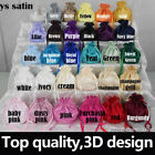 32 colour satin wedding birdal dolly bags handbag F bridesmaid flower girl dress