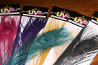 SPIRIT RIVER UV2 DYED PEACOCK EYE FEATHERS FOR FLY JIG TYING YOU PICK COLOR
