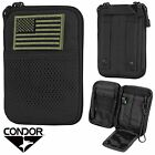 Condor Tactical MOLLE Passport ID/Phone Wallet Pocket Pouch w/ USA Flag MA16Tactical, Molle Pouches - 177900