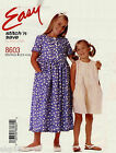 McCall's 8603 Stitch 'n Save Girls Dress & Romper Pattern MANY SIZES OOP VINTAGE