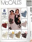 McCall's 8567 Girls Unlined Jacket or Dress Pattern MANY SIZES OOP VINTAGE