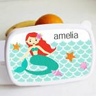 Cookify - Lunch Box - Personalised Mermaid Theme - Ideal for School - Durable