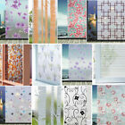 Внешний вид - Static Cling Frosted Stained Flower Glass Window Film Sticker Privacy Home Decro