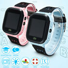 Anti-lost Children Kids Smart LBS Tracker Wrist Watch SOS Call For Android IOS T