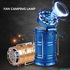 New 2 in 1 6+1 LED Rechargeable Flashlight Solar Powered Camping Lantern COOL