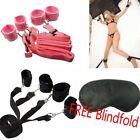 3-Under-Bed-Restraint-System-With-Handcuffs-&-Anklet-Sexy-Toys-Restraint